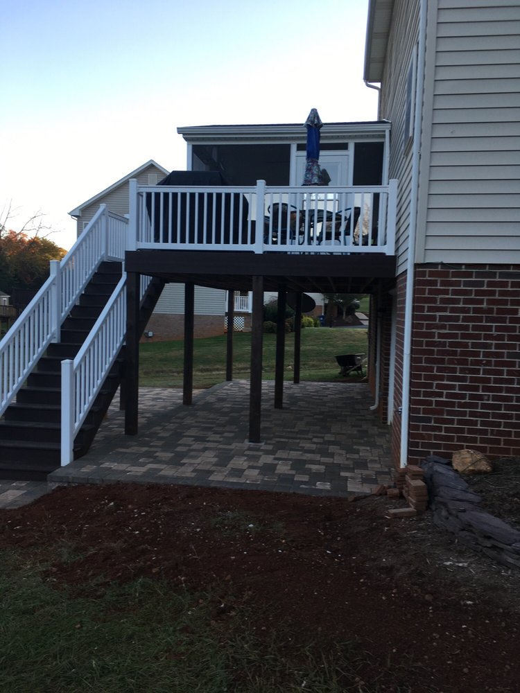 Deck And Patio Combination Designs: Patio And Deck Construction In Lynchburg, VA