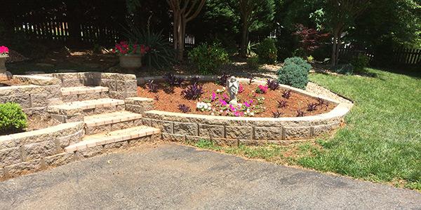 masonry and block wall Contractor Lynchburg VA